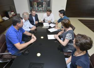 Reunião contou com a presença de secretários